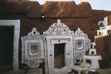 Close-Up of a Toy House, Oualata, Mauritania Photographic Print
