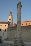 Croatia - Dalmatia - Zadar, Roman Column Photographic Print