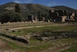 Hadrian's Villa, 2nd Century, Golden Court, Italy Photographic Print