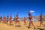 Inti Raymi, Incan Celebration, Cuzco, Andes Mountains, Peru Photographic Print