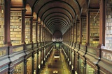 Library (18th Century) of Trinity College, Dublin, Ireland Photographic Print