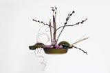 Ikebana, the Art of Flower Arrangement Photographic Print