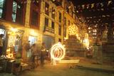 Diwali Festival, Katmandu, Nepal Photographic Print