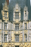 Facade of a Castle, Chateau D'O, Normandy, France Photographic Print