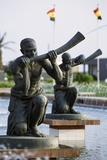Statues, Memorial to Kwame Nkrumah, Accra, Ghana Photographic Print