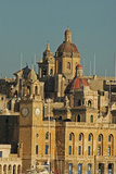 Senglea Town from the Harbour, Valletta, Malta Photographic Print