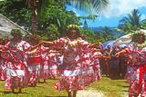 Tiare Tahiti Day, Papeete, Tahiti Photographic Print