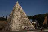 Rome, Pyramid of Cestius Photographic Print