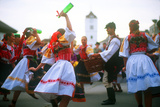 International Folk Festival, Straznice, Czech Republic Photographic Print