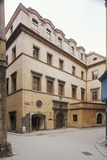 Two Golden Bears House in Prague Photographic Print