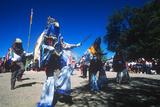 Dance of Los Matachines, El Rancho De Las Golondrinas, New Mexico Photographic Print