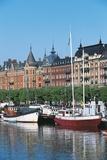 Strandvagen Marina, Stockholm, Sweden Photographic Print