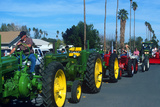 Tractors in Parade, Carrot & BBQ Cook-Off, Holtville, California Photographic Print