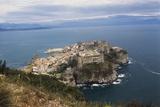 View of Gaeta and Castle, Lazio, Italy Photographic Print