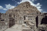 View of City and Buildings of Thula, Yemen Photographic Print