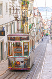 Tram in Lisbon, Portugal Photographic Print