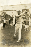 Boxer Jack Dempsey Tries Out a Different Sport, January 23, 1924 Photographic Print