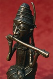 Statuette of King, Ife Art, Nigeria Photographic Print