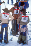 Cowboy Downhill Festival, Steamboat, Colorado Photographic Print