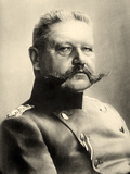 Portrait of Paul Von Hindenburg Photographic Print