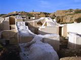 Ruins of Ebla, III Milllennium BC, Syria Photographic Print