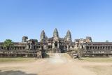 Eastern View of Angkor Wat, Siem Reap, Cambodia Photographic Print