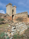 Ruins of a Castle, Bosa, Sardinia, Italy Photographic Print