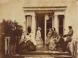 Family Portrait, C.1860 Photographic Print