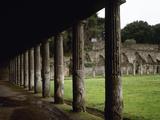 Pompeii, Quadriporticus Photographic Print