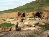 Syria. Ebla. Ruins of Ebla. Early Bronze Age 3rd Millennium BC Photographic Print