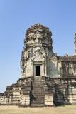 Angkor Wat First Level Stone Tower, Cambodia Photographic Print