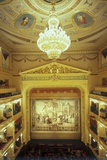 Interior of the National Theatre, Prague, Czech Republic Photographic Print