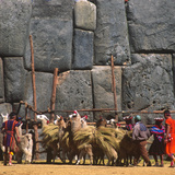 Inti Raymi, Incan Celebration, Cusco, Peru Photographic Print