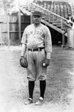 Babe Ruth Stands at Miami Field, March 16, 1920 Photographic Print