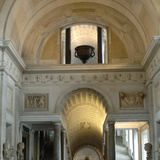 Pio-Clementino Museum, Inside View, Vatican Museums, Vatican City Photographic Print