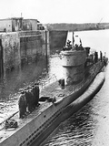 German U-Boat Docks on the Atlantic Coast, C.1939-45 Photographic Print