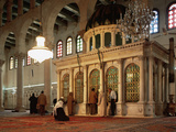 Syria, Great Mosque of Damascus, Interior Photographic Print