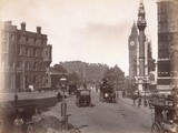 Parliament Square from Victoria Street, London, C.1885 Photographic Print