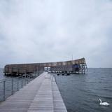 Kastrup Sea Baths, Kastrup, Copenhagen, Denmark Photographic Print