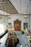 Interior of the Paradesi Synagogue Photographic Print