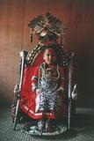 Patan, Kumari Princess, Katmandu Valley Photographic Print