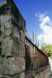 Fence, St Johns, Antigua Photographic Print