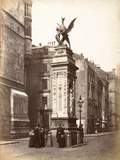 Temple Bar, London, C.1885 Photographic Print