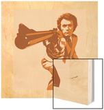 Dirty Harry Wood Print by Emily Gray