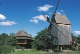 Windmill, Skansen Open Air Museum, Djurgarden, Stockholm, Sweden Photographic Print