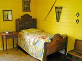 Austin's Bedroom, Villa Vailima, Apia, Samoa Photographic Print