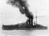 The Austrian Battleship 'Viribus Unitis' Lámina fotográfica