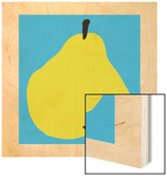 Pear Wood Print by Philip Sheffield