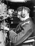 A Wireless Operator in the Commanding Tank of a Tank Division, 1941 Photographic Print