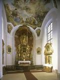 Chapel of St. Joseph, Jemništ Château Photographic Print